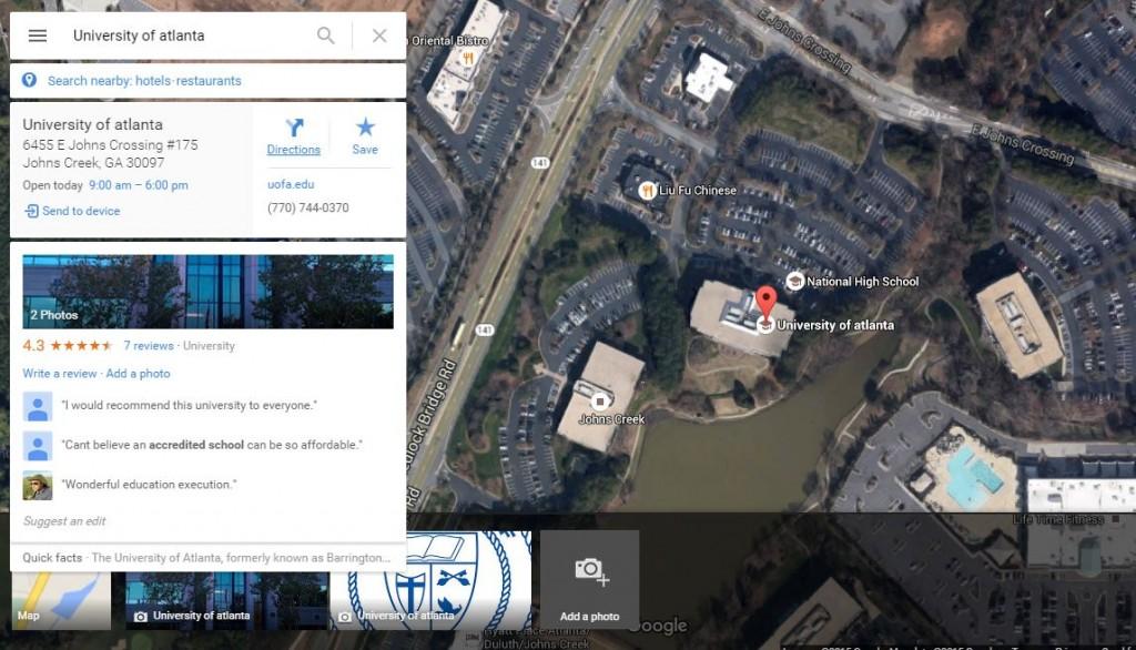دانشگاه آتلانتا University of Atlanta