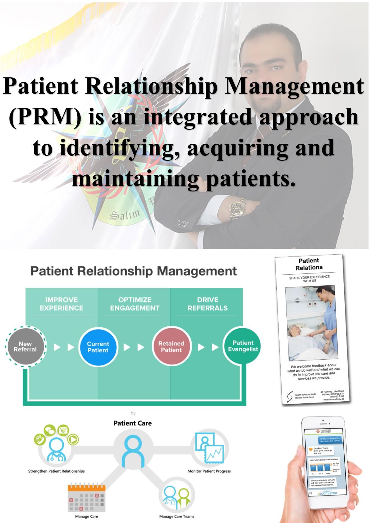 Patient Relationship Management مدیریت ارتباط با بیمار
